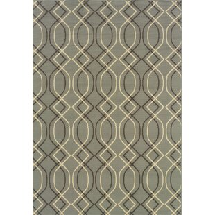 Milltown Blue/Grey Indoor/Outdoor Area Rug