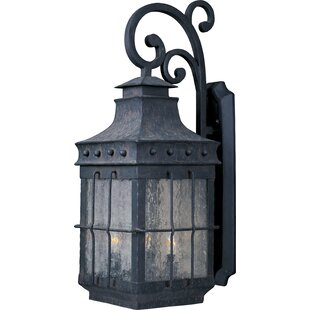 Harbiye 3-Light Outdoor Wall Lantern