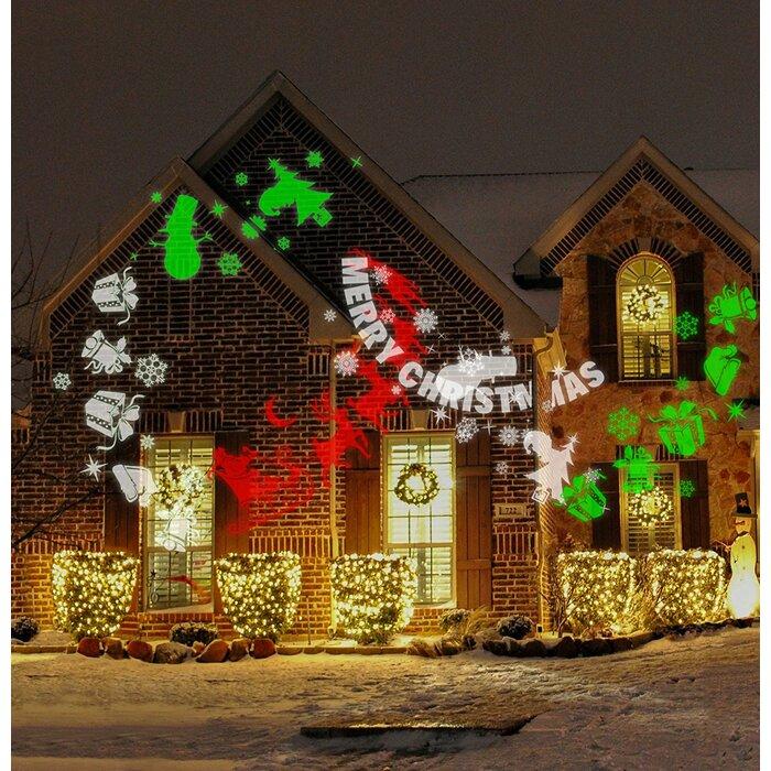 Hologram Christmas Tree Projector.Merry Christmas Projector Light