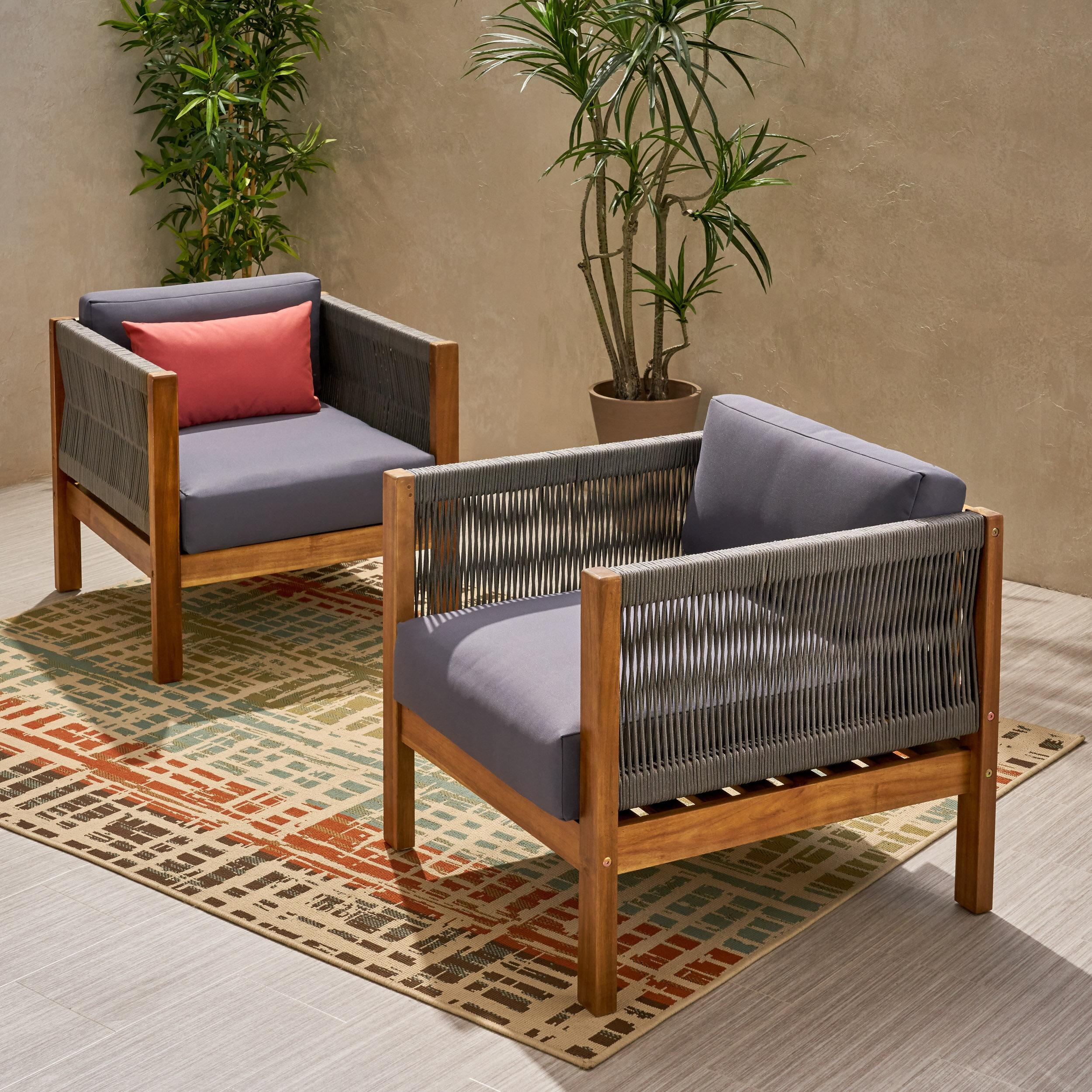 Silke Modern Outdoor Patio Chair