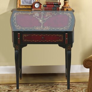 Astoria Grand Royse Wooden Secretary Desk