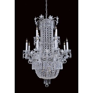 Metropolitan by Minka Contemporary 12-Light Chandelier