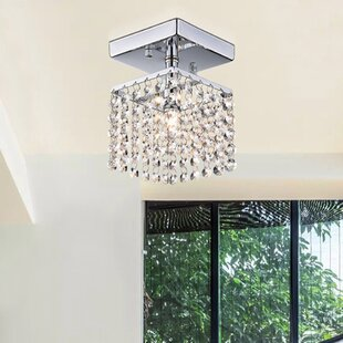 Affordable Zakhar 1-Light Semi Flush Mount By Willa Arlo Interiors