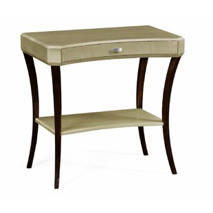 End Table with Storage by Jonathan Charles Fine Furniture