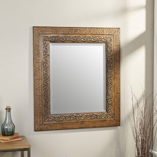 Asrani Rustic Metal Framed Mirror
