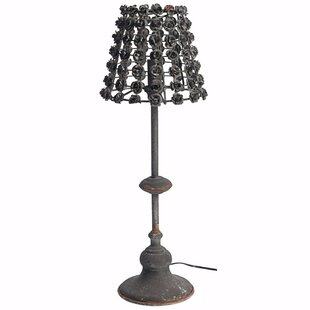 Tion Rose Trimmed 27 Table Lamp