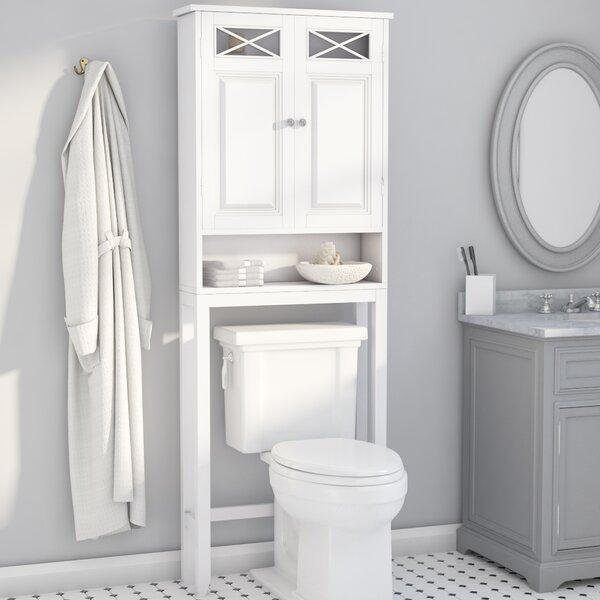 Darby Home Co Coddington 25 W X 68 H Over The Toilet Storage Reviews Wayfair