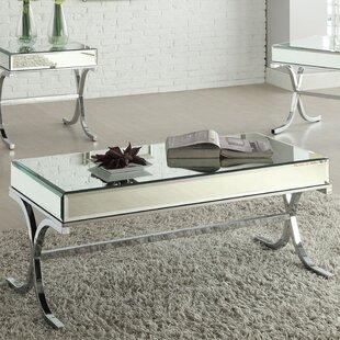 Affordable Price Khalid 2 Piece Coffee Table Set ByRosdorf Park