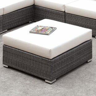 Brayden Studio Peters Ottoman with Cushion