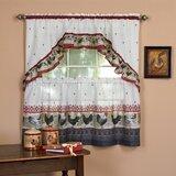 Rooster Kitchen Curtains | Wayfair