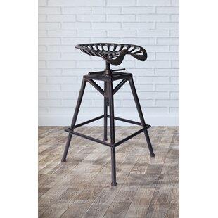 Cool Hoggan Adjustable Height Swivel Bar Stool Creativecarmelina Interior Chair Design Creativecarmelinacom