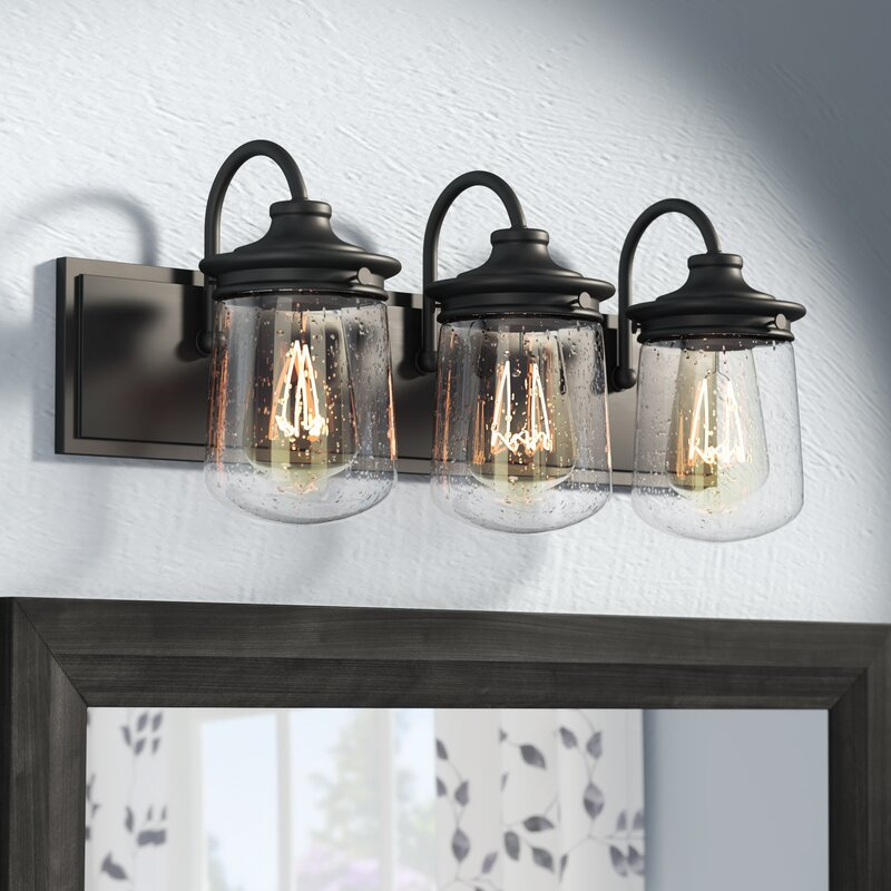 Laurel Foundry Modern Farmhouse Bostwick 3-Light Vanity ...