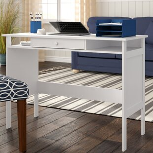 Southport Solid Wood Writing Desk by Breakwater Bay Discount