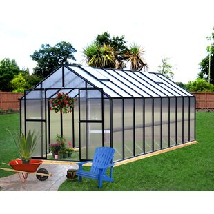 Riverstone Industries Monticello 8 Ft. W x 20 Ft. D Hobby Greenhouse