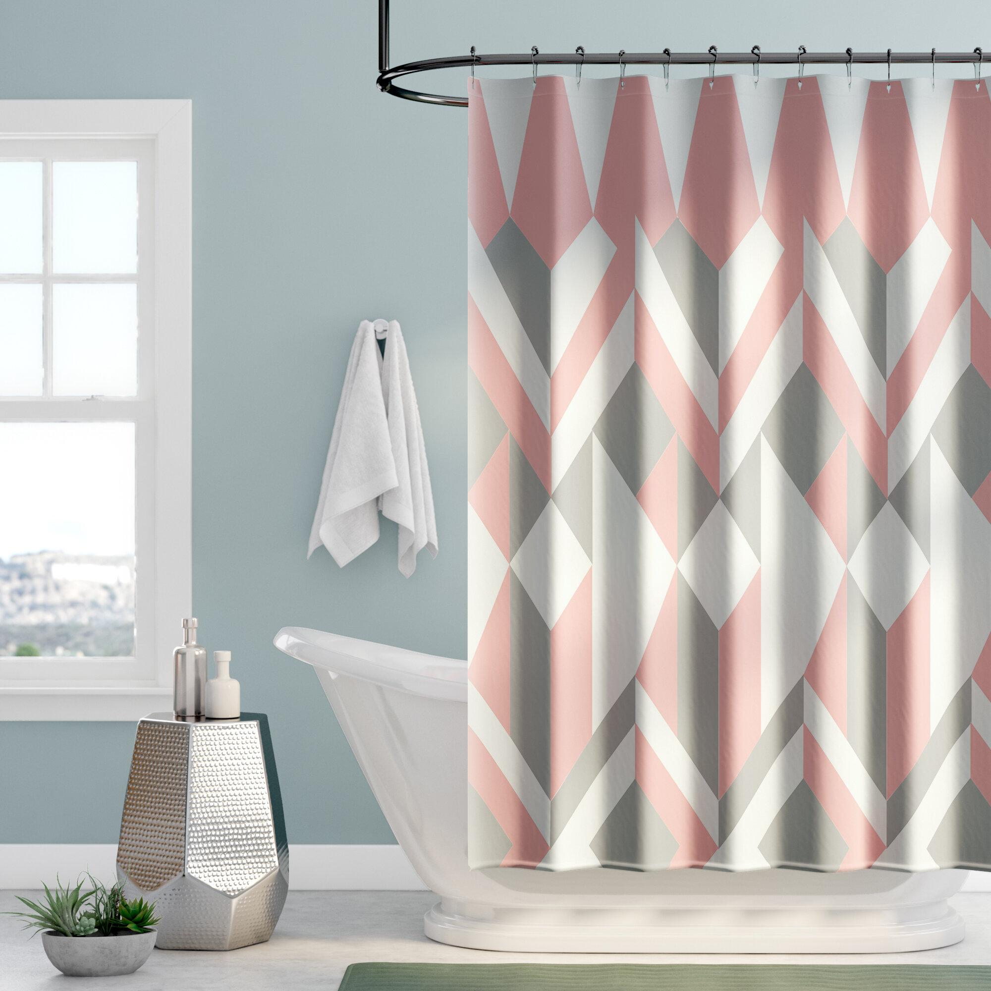 Mercury Row Babineau Cotton Shower Curtain Reviews
