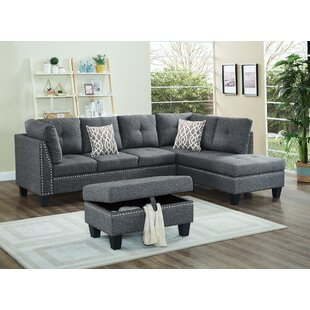 Farallones Sectional With Ottoman by Red Barrel Studio Great price