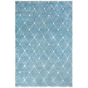 My Manhattan Shag Blue Rug