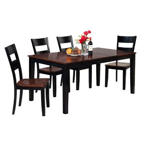 Downieville-Lawson-Dumont Solid Wood Dining Set by Loon Peak Today Only Sale