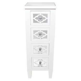 Montanez 4 Drawer Chest By Rosdorf Park