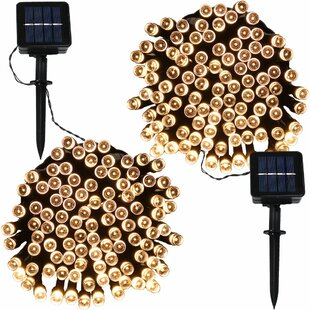 Orchila 34 ft. 100-Light Wide Angle LED Mini String Light (Set of 2)