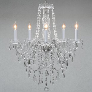 Rosdorf Park Hoffman 5-Light Candle Style Chandelier