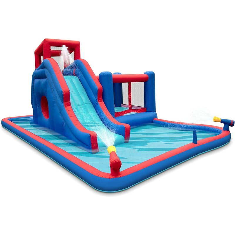 Sunny & Fun 20.16' x 13.5' Inflatable Water Slide ...