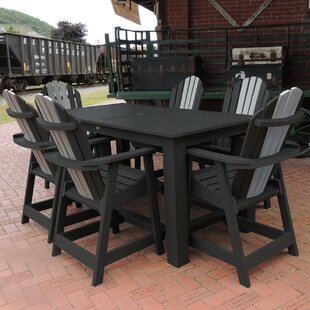 Longshore Tides Deerpark 7 Piece Counter Height Dining Set