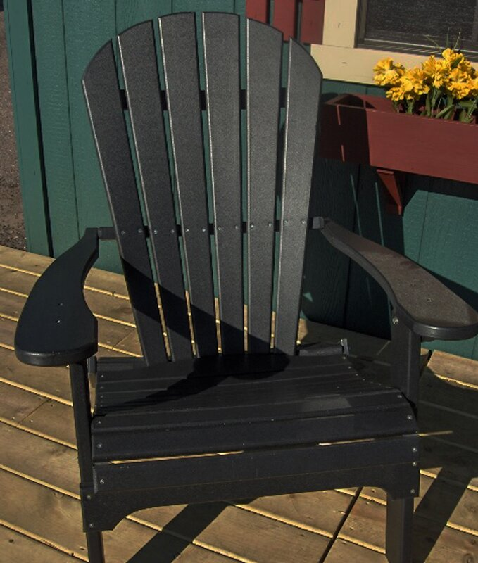 Good Default NameBuyers Choice Phat Tommy Folding Recycled Poly Adirondack Chair