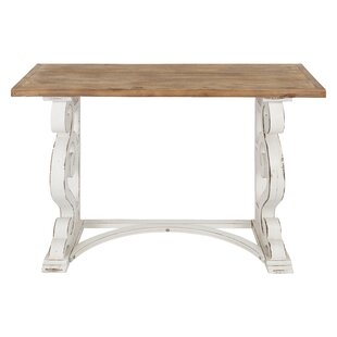 Lauer French Solid Wood Console Table By Ophelia & Co.