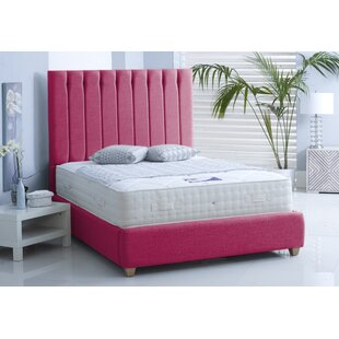 Review Devon Upholstered Bed Frame