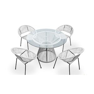 Buy Ehrlich 5 Piece Dining Set!