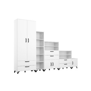Shuffle 320cm Wide Clothes Storage System By Rauch