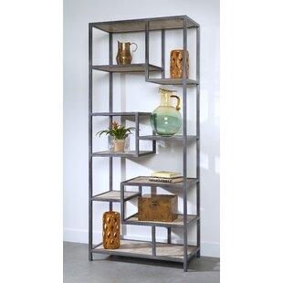 Dysart Tall Etagere Bookcase