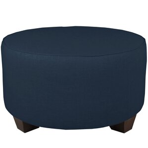 Round Cocktail Ottoman by Bray..