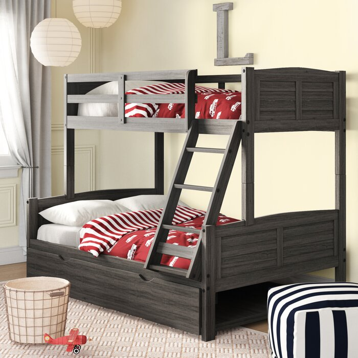 Birch Lane Bladon Twin Over Full Bunk Bed With Twin Trundle