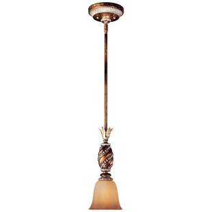 Astoria Grand Mcmillian 1-Light Cone Pend..