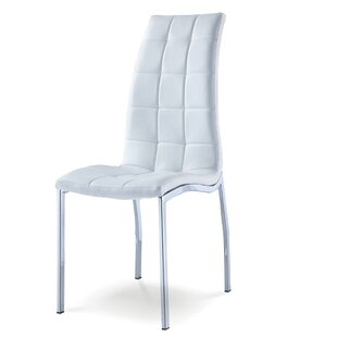Reviews Fish Upholstered Dining Chair (Set of 4) by Orren Ellis Reviews (2019) & Buyer's Guide
