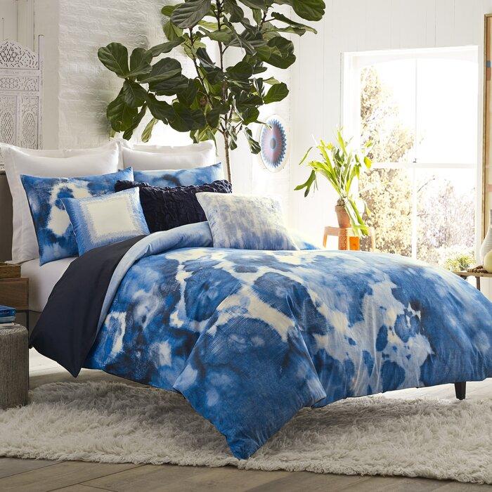 High Quality Mexico City Casa Azul 3 Piece Duvet Cover Set