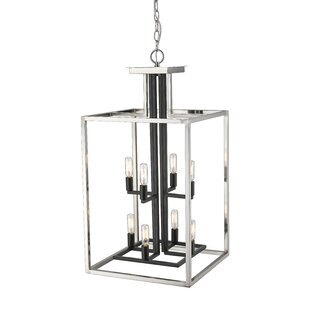 Ivy Bronx Bedsworth 8-Light Rectangle Chandelier