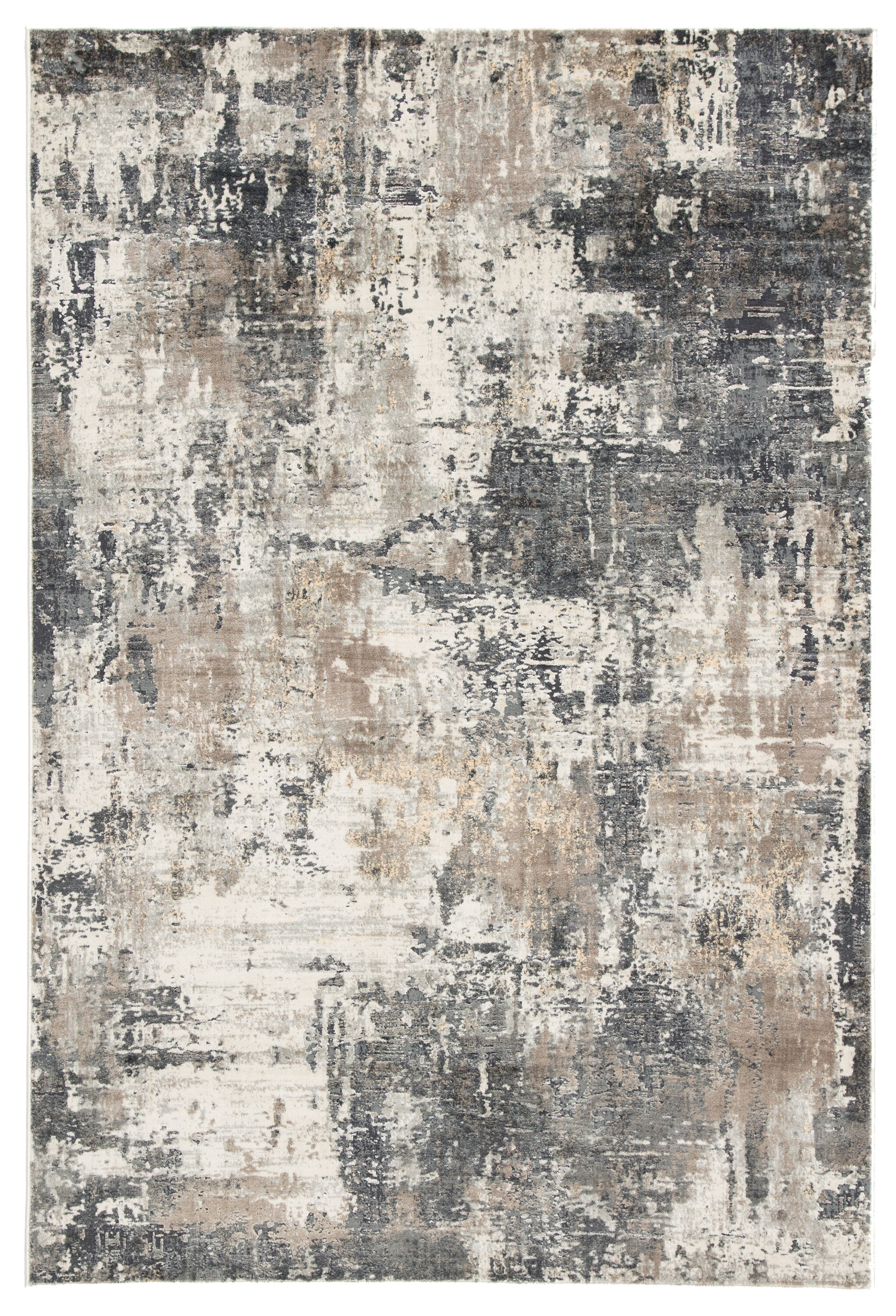 Williston Forge Ramsgate Abstract Gray Beige Area Rug Reviews