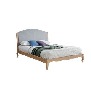 Review Quentin Upholstered Bed Frame Bed