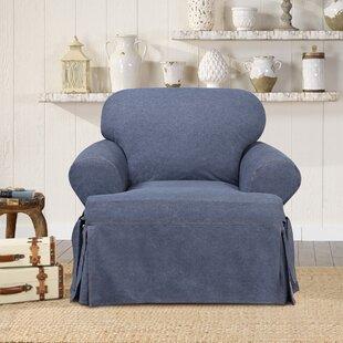 Authentic T-Cushion Armchair Slipcover