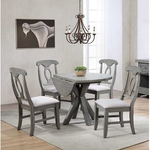 Graystone 5 Piece Drop Leaf Dining Set ECI Furniture