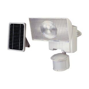 Solar 15-Watt Solar Power Battery Operated Outdoor Security Flood Light with Motion Sensor by Cooper Lighting LLC