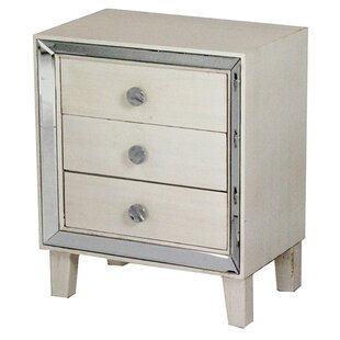 Nasim 3 Drawer Accent Chest by..