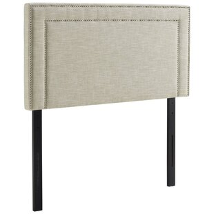 Ivy Bronx Fregoso Fabric Upholstered Panel Headboard