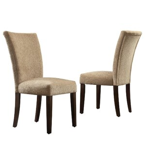 Malta Chenille Parson Chair (Set of 2) by Three ..