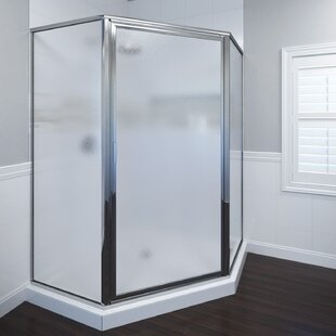 Deluxe 14 x 68.6 Neo-angle Pivot Shower Enclosure By Basco