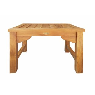Ingrid Backless Teak Picnic Bench