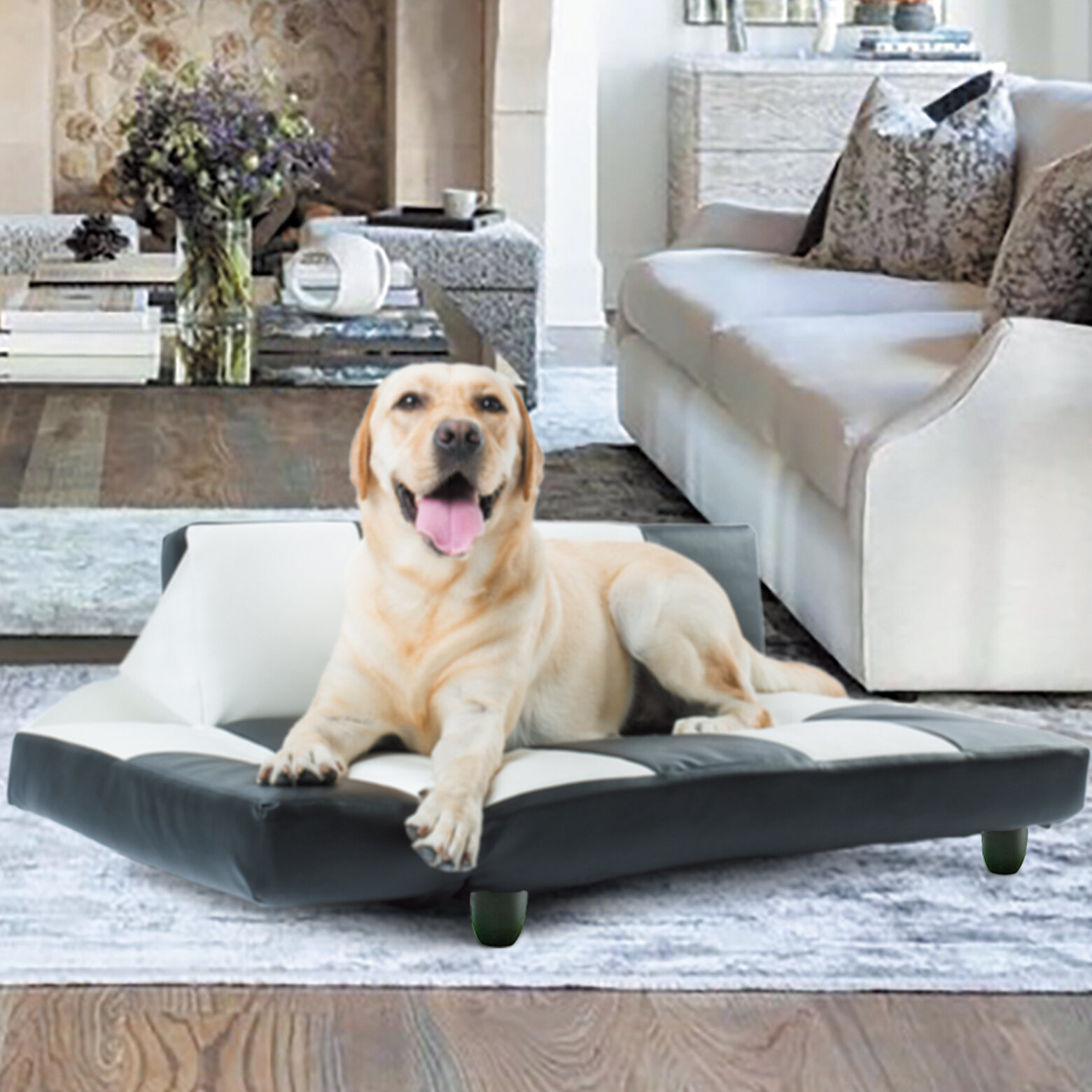 Z Joyee Dog Sofa Deluxe Scratch Resistant And Ultra Strong Structure Dog Bed Wayfair